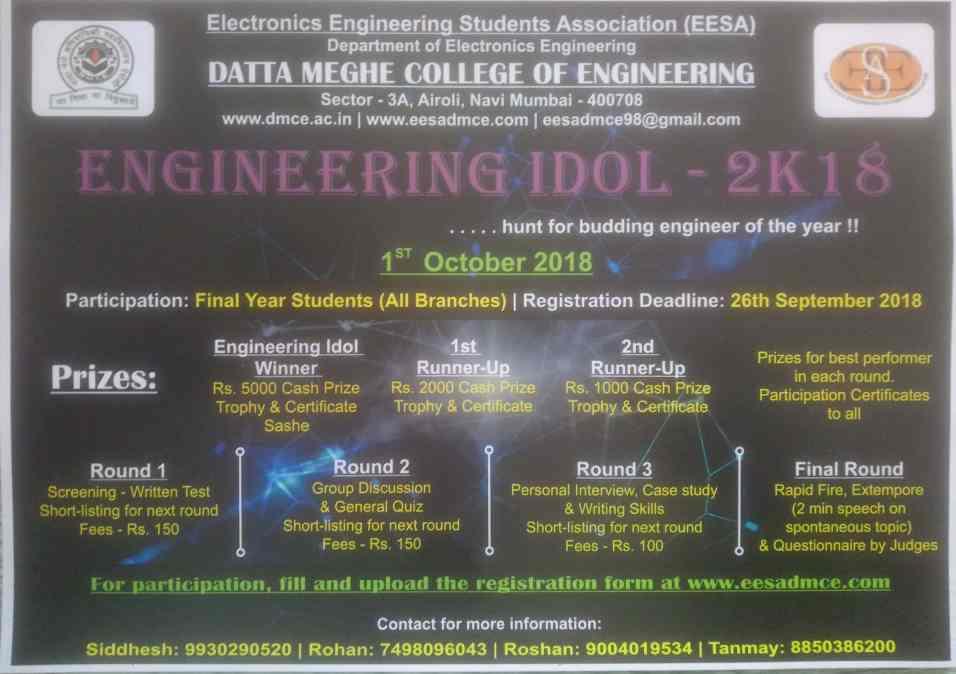 Engineering Idol-2K18